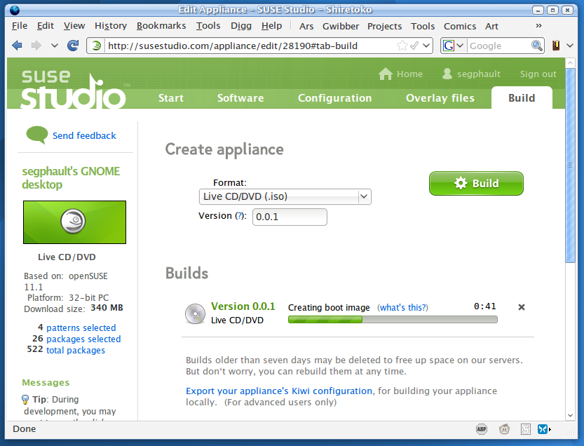 Software and virtual appliances can now be built quickly and easily